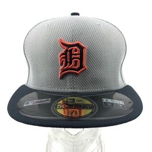 Detroit Tigers New Era Fitted Baseball Hat 7 1/4